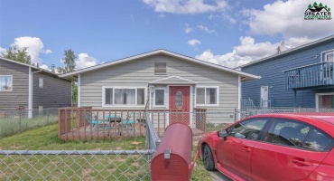 1010 27TH AVENUE, Fairbanks, Alaska 99701, 2 Bedrooms Bedrooms, ,1 BathroomBathrooms,Residential,For Sale,27TH AVENUE,143639
