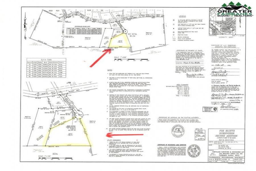 L13 B3 ENGINEER CREEK COURT, Fairbanks, Alaska 99712-0000, ,Land,For Sale,ENGINEER CREEK COURT,145223