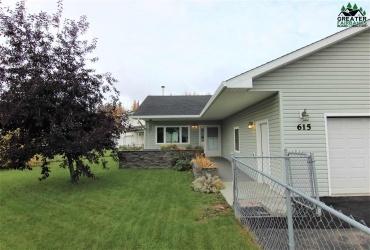 615 AUDREY DRIVE, Fairbanks, Alaska 99709, 3 Bedrooms Bedrooms, ,2 BathroomsBathrooms,Residential,For Sale,AUDREY DRIVE,145235