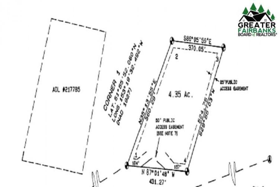 NHN HARTMAN, Alaska Range, Alaska 99999, ,Land,For Sale,HARTMAN,145533