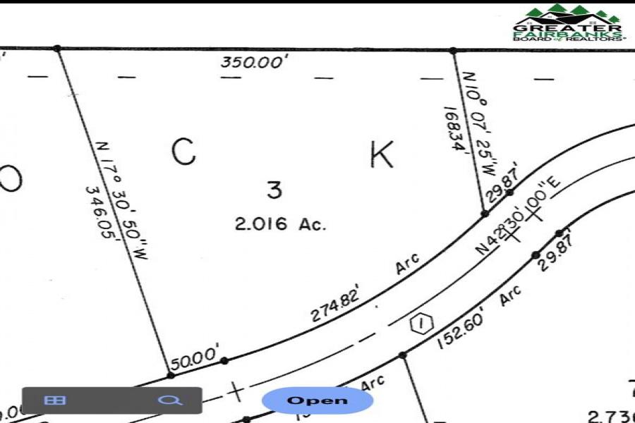 680 GRUBSTAKE ROAD, Fairbanks, Alaska 99712, ,Land,For Sale,GRUBSTAKE ROAD,145573