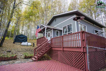 525 EAGLE RIDGE ROAD, Fairbanks, Alaska 99712, 2 Bedrooms Bedrooms, ,1 BathroomBathrooms,Residential,For Sale,EAGLE RIDGE ROAD,146206